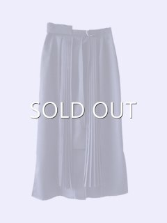 AKIKOAOKI  PLEATED TIGHT SKIRT