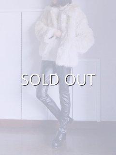AKIRA NAKA アキラナカ Synthetic leather strap leggings