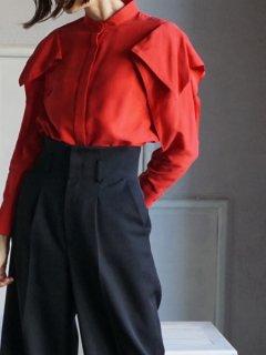 AKIRA NAKA アキラナカ Veronica blouse(RD)