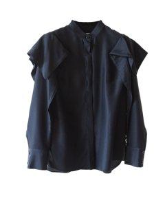 AKIRA NAKA アキラナカ Veronica blouse(BK)