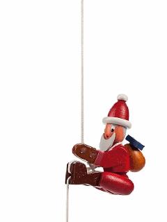 ウルブリヒト工房 紐登り人形(ギフトパッケージ)サンタ