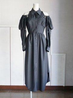 AKIKOAOKI アキコアオキ puffy dress