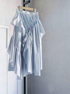 AKIRA NAKA アキラナカ stripe skirt WHBL