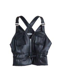 AKIKOAOKI アキコアオキ Army vest