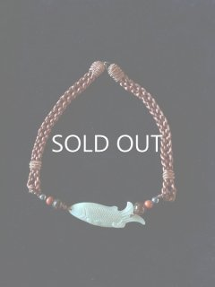 Antique Jade necklace (fish)