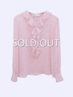leur logette ルールロジェット rose line blouse