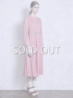 leur logette ルールロジェット rose line tack dress