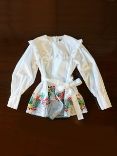 leur logette ルールロジェット embroidery blouse★