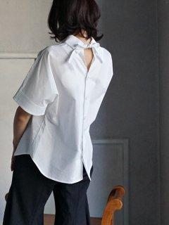 AKIKOAOKI アキコアオキ Melted collar-01 WH