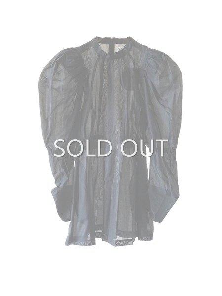 akikoaoki  Plane Sheer blouse