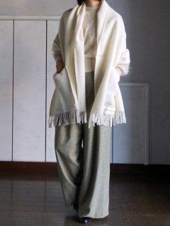 LAPUAN KANKURIT ラプアンカンクリ Pocket shawl MARIA (WH)