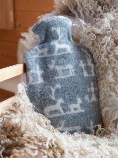 予約 LAPUAN KANKURIT ラプアンカンクリ Hot water bottle SEITA (GY-WH)