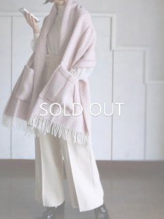 LAPUAN KANKURIT ラプアンカンクリ Pocket shawl IIDA (ROSE)