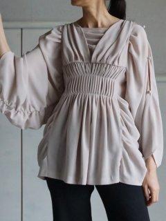 AKIKOAOKI アキコアオキ Daphne  blouse BG