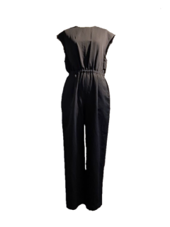 leur logette ルールロジェット couture line Jumpsuit BK