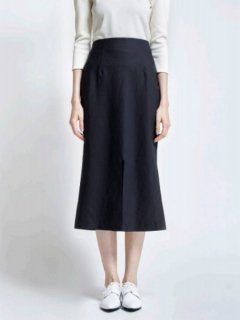 leur logette ルールロジェット couture linen Skirt BK