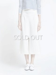 leur logette ルールロジェット couture linen Skirt offwhite
