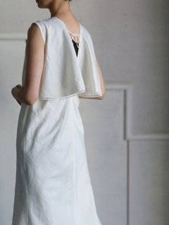 leur logette ルールロジェット couture line Dress offwhite