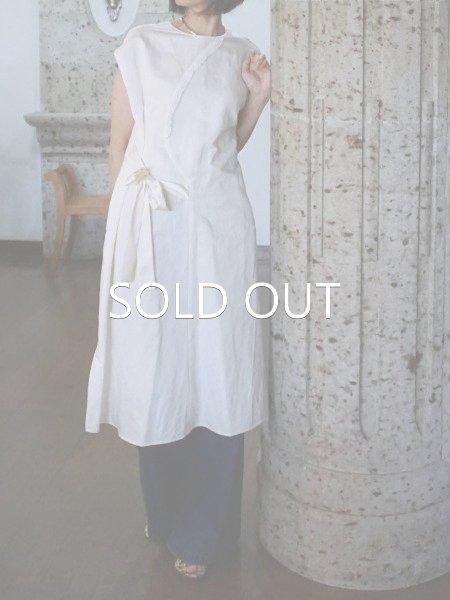 leur logette couture linen dress