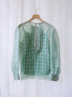 leur logette ルールロジェット fleeting check top