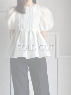 leur logette ルールロジェット pearl cloth blouse OFF