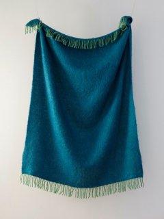予約 LAPUAN KANKURIT ラプアンカンクリ REVONTULI Mohair Blanket green-petroieum