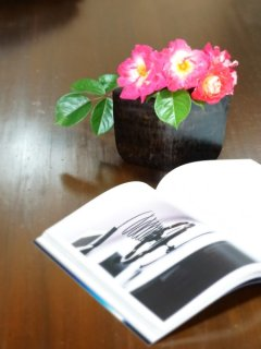 ironwood cow bell flower vase