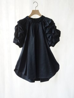 leur logette ルールロジェット couture satin top BK