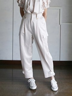 leur logette ルールロジェット couture satin pants PK