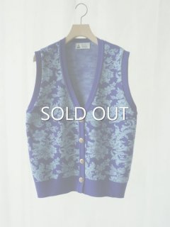 leur logette ルールロジェット wool jacquard vest