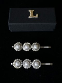 leur logette ルールロジェット hair pin  sliver / 3