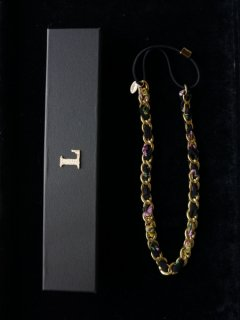 leur logette ルールロジェット necklace or hair band