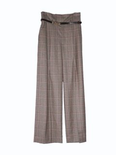 leur logette ルールロジェット funny check wool pants