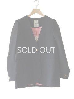 leur logette ルールロジェット wool triple cloth jacket