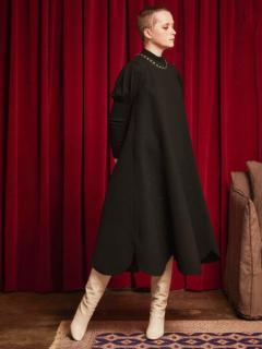 leur logette ルールロジェット wool triple cloth dress