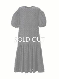 leur logette ルールロジェット airy jacquard dress