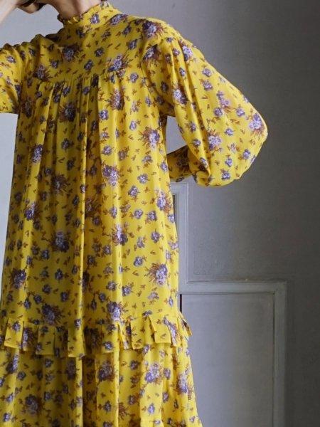 leur logette  flower motife dress