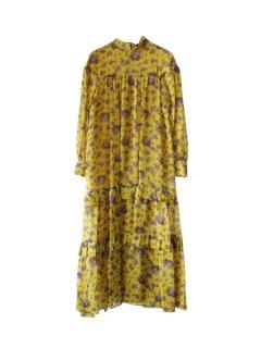 leur logette ルールロジェット motif flower print dress YE
