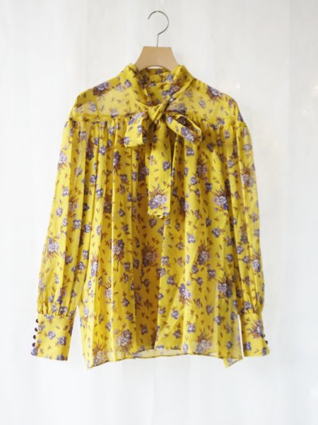 leur logette silk blouse