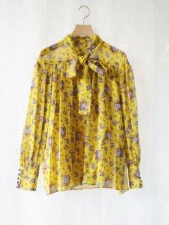 leur logette ルールロジェット motif flower print blouse YE