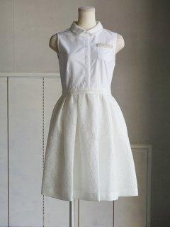 leur logette  ルールロジェット MALHIA KENT ice clothドレス (WH) ★sale