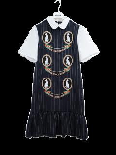 VIVETTA ヴィヴェッタ キャット刺繍ドレス LIANA