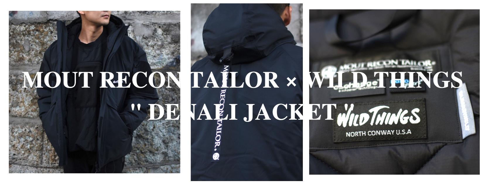 mout recon tailor × wild things denali jacket