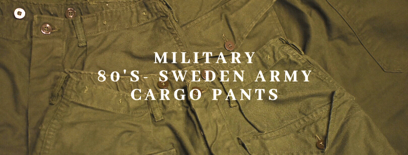 sweden army cargo pants