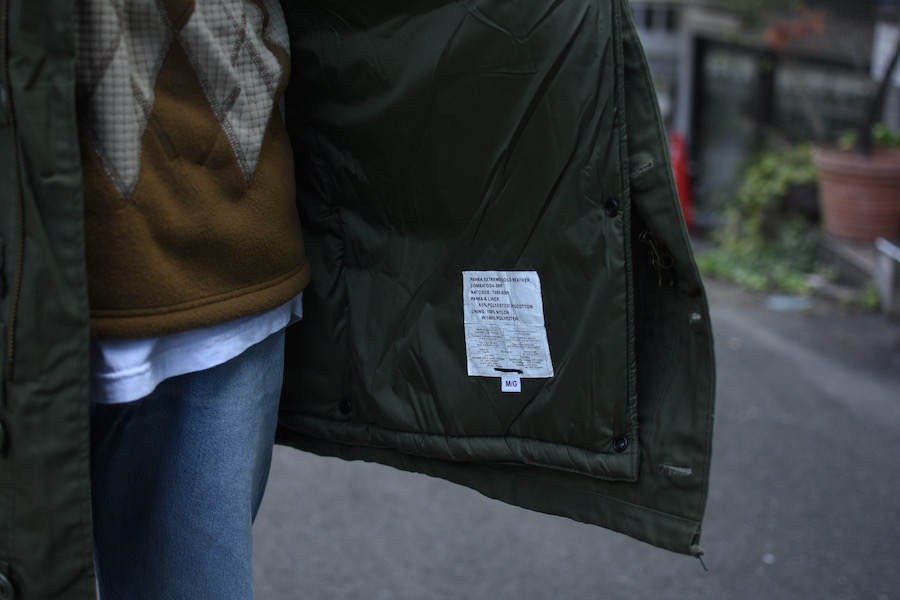 deadstock canadian army ecw combat parka