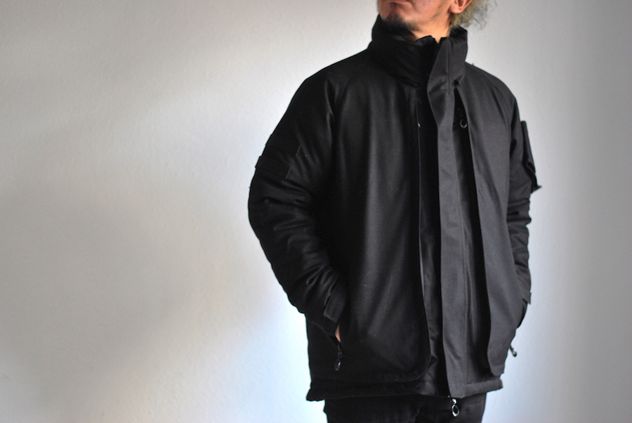 mout recon tailor insulation shooting jacket