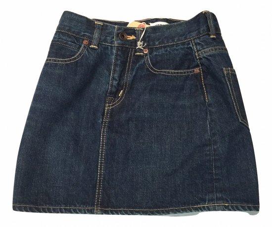 ハーフィー (herfee) selvedge denim skirt / ミニスカート - エンシニータス