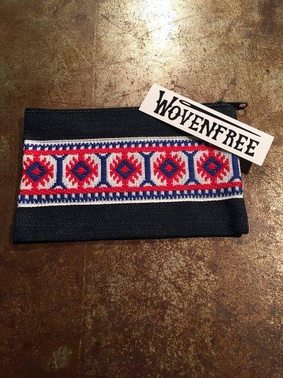 woven free/ウーブンフリー  pouch/ポーチ denim/デニム zp-003