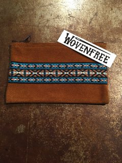 woven free/ウーブンフリー  pouch/ポーチ suede/スエード zp-002