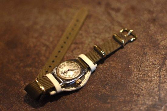 ヴァーグウォッチ ( vague watch ) coussin mil / 腕時計 アンティークウォッチ - エンシニータス